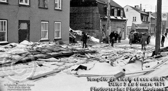 Rue de Maizenod. 5 mars 1971.