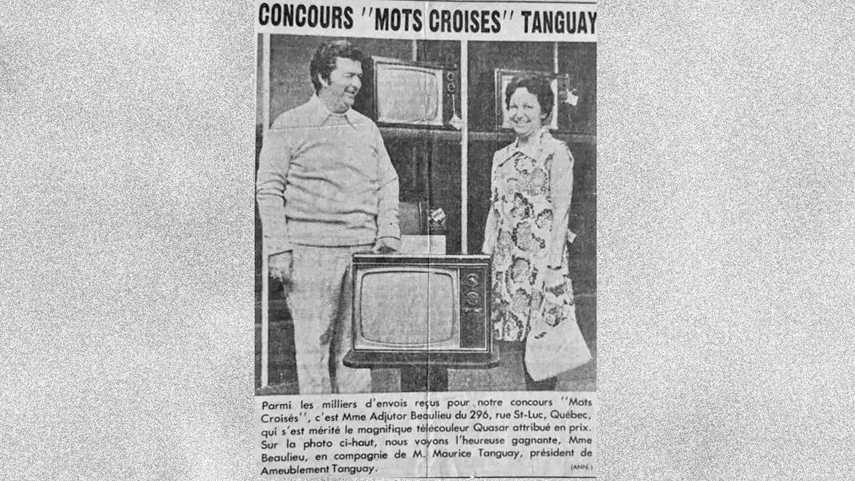 La gagnante du concours de «Mots croisés» Tanguay | 14 mars 2021 | Article par Carole Beausoleil