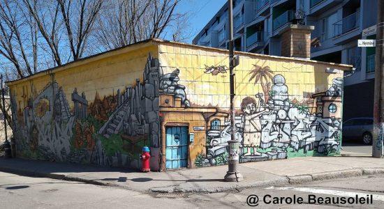 De l'autre côté de la porte de «La Shop» - Carole Beausoleil