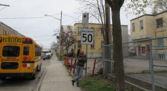 Des activités pour sensibiliser à la sécurité routière près des écoles - Julie Rheaume