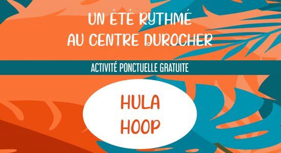 Atelier de hula hoop à l'Oasis St-Malo