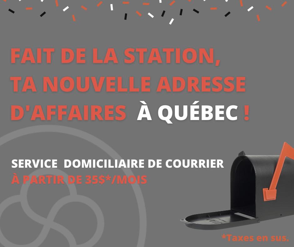service domiciliaire de courrier - Station Québec (La)
