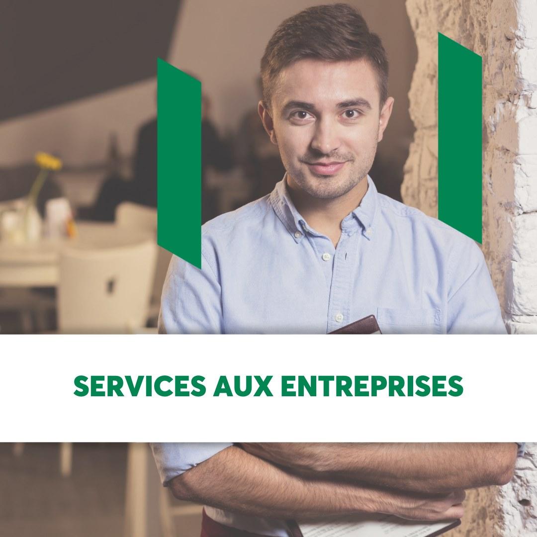 Service aux entreprises - Desjardins - Caisse de Québec
