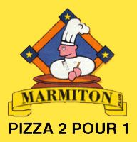 Méga Promo 4 | Marmiton Pizza 2 pour 1