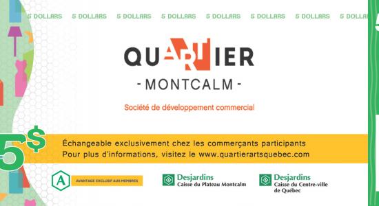 Dollars Quartier Montcalm   SDC Montcalm – Quartier des arts de Québec