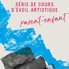 Série de cours d'arts plastiques pour enfants   Éveil artistique parent-enfant (3 à 5 ans)