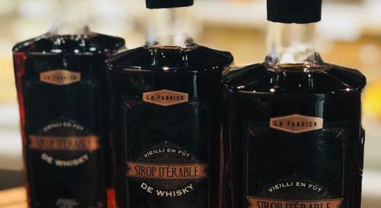 Le sirop d'érable vieilli en fût de whisky maintenant disponible   Café Les Cousins