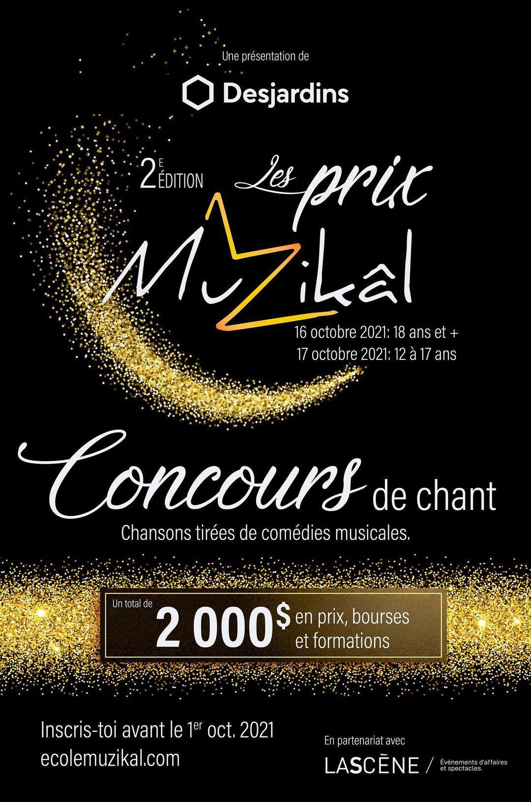 Les prix Muzikâl