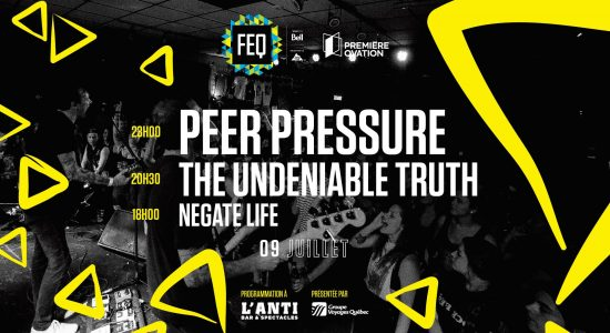 Peer Pressure • The Undeniable Truth • Negate Life
