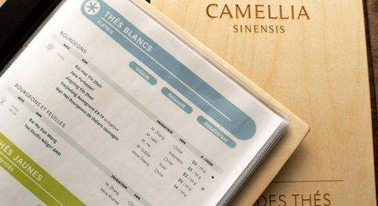 Nouveau menu en boutique   Camellia Sinensis Maison de thé