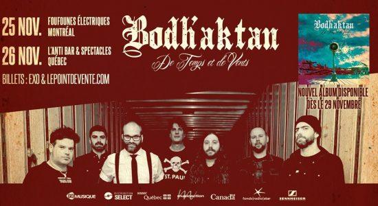 Bodh'aktan – De Temps et de Vents