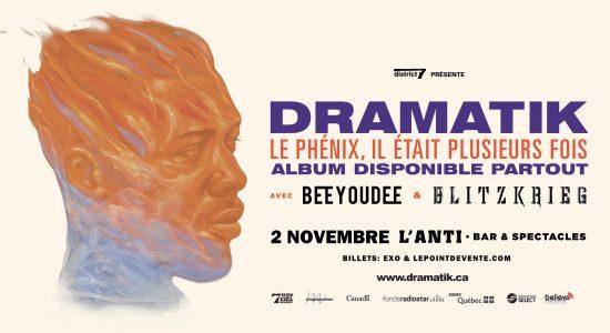 Dramatik avec Beeyoudee & Blitzkrieg