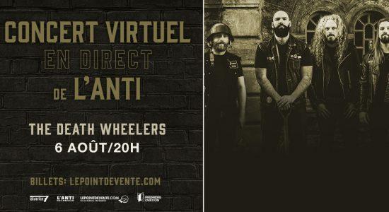 The Death Wheelers – Concert virtuel en direct de L'Anti
