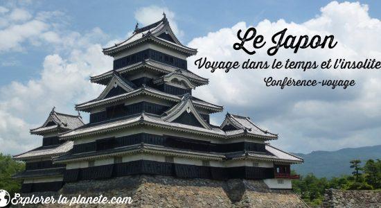 Conférence-voyage sur le Japon - voyage dans le temps et l'insolite